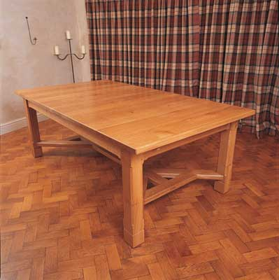 Life in 3d the wife and i - Kitchen table woodworking plans ...
